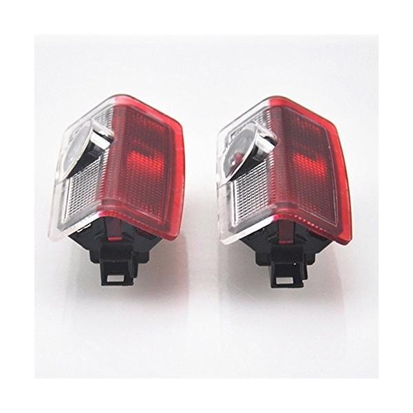 ウェルカムライト、KVCH 1ペアLED礼儀照明ベンツCのための車のドアのレーザープロジェクターのロゴゴーストシャドーライトドアの装飾リムーバーとAm|mediaearth|06