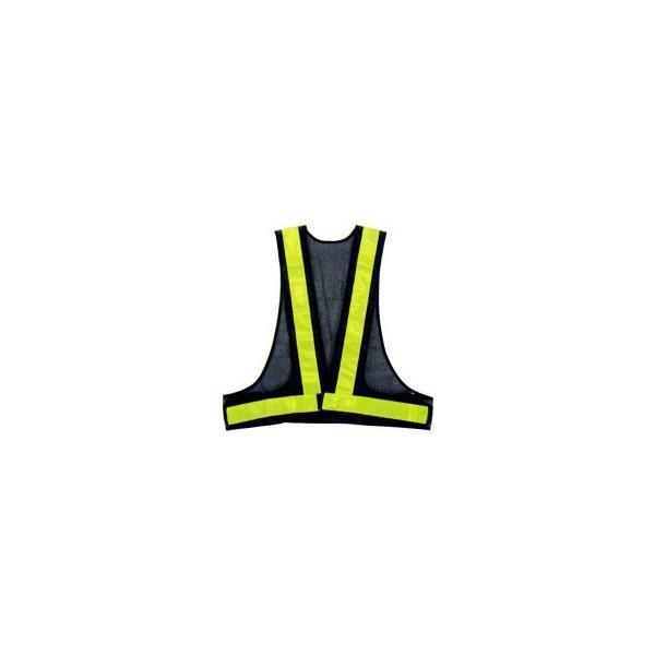 勝星 保安用品 安全ベスト(5cm巾) KA-350 紺×イエロー 代引き不可/同梱不可