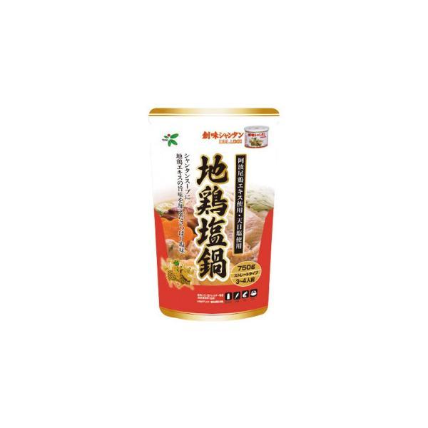 TOHO 桃宝食品 創味シャンタン地鶏塩鍋つゆ 750g×12個入り 代引き不可/同梱不可