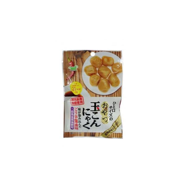 村岡食品工業 おやつ玉こんにゃく ピリ辛?油味 30g×10袋×12セット 代引き不可/同梱不可