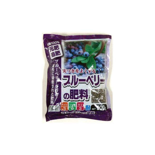 あかぎ園芸 ブルーベリーの肥料 500g 30袋 (4939091740075) 代引き不可/同梱不可