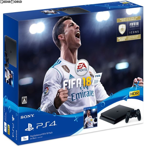 PlayStation4 FIFA 18 Pack CUHJ-10017の画像