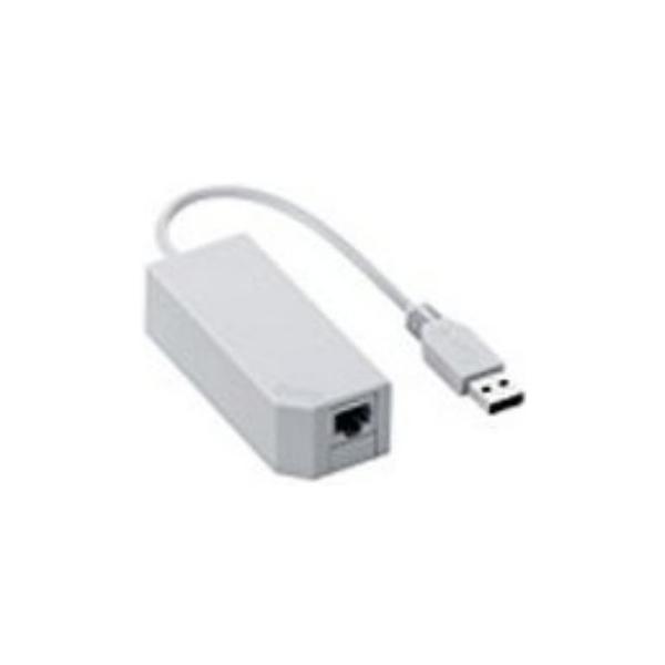 Wii専用 LANアダプタ(Wii U対応) 任天堂(RVL-A-UE)の画像
