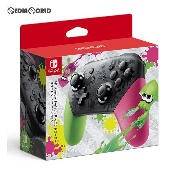 Nintendo Switch Proコントローラー スプラトゥーン2エディション HAC-A-FSSKBの画像