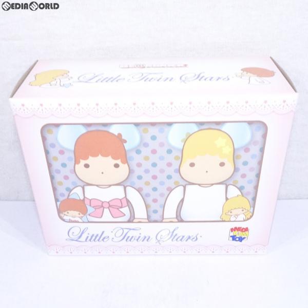 『新品即納』{FIG}BE@RBRICK(ベアブリック) Little Twin Stars キキ & ララ セット 100%(レトロカラーVer.) 2PACK 可動フィギュア メディコム・トイ(20190320)
