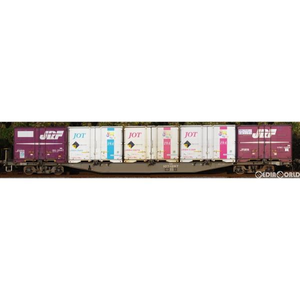 『 安心』{RWM}( )8718JR貨車コキ107形(増備型・コンテナなし)(動力無し)Nゲージ鉄道模型TOMIX(トミックス
