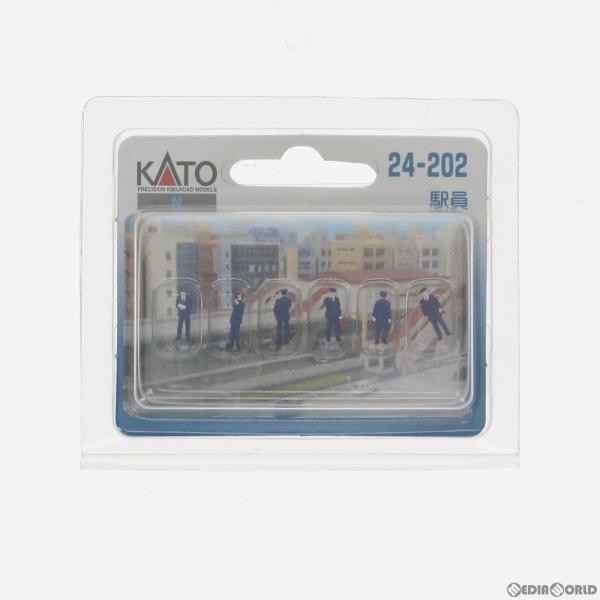 『中古 』{RWM}24-202駅員Nゲージ鉄道模型KATO(カトー)(20140831)