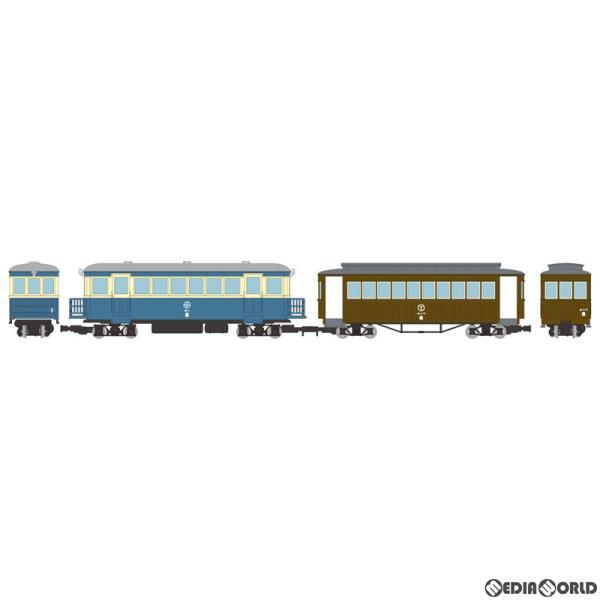 『新品』『お取り寄せ』{RWM}312031 鉄道コレクション 猫屋線 キハ8新塗装・ホハフ6茶色塗装 2両セット(動力無し) HOナローゲージ 鉄道模型 TOMYTEC(20200628)