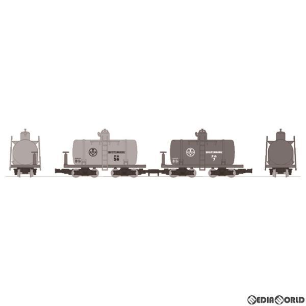 『新品』『お取り寄せ』{RWM}317616 鉄道コレクション ナローゲージ80 猫屋線 小型タンク貨車 2両セット(動力無し) 鉄道模型 TOMYTEC(20210625)