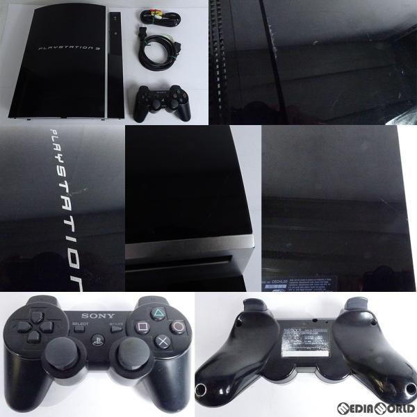 PlayStation3本体 80GB クリアブラックの画像
