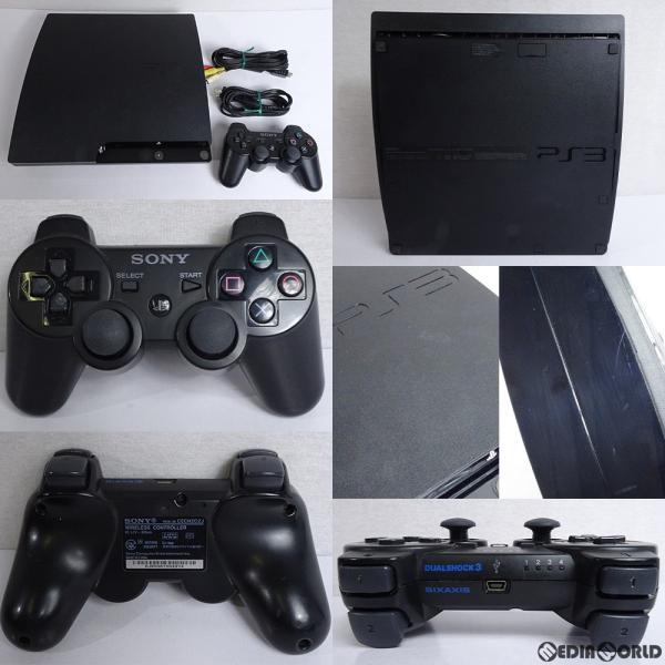 PlayStation3本体 320GB チャコールブラック CECH-2500Bの画像