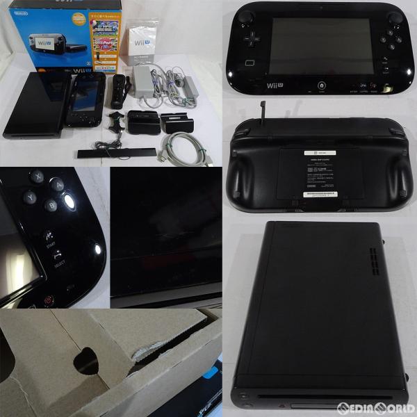 Wii U すぐに遊べるファミリープレミアムセットkuroの画像