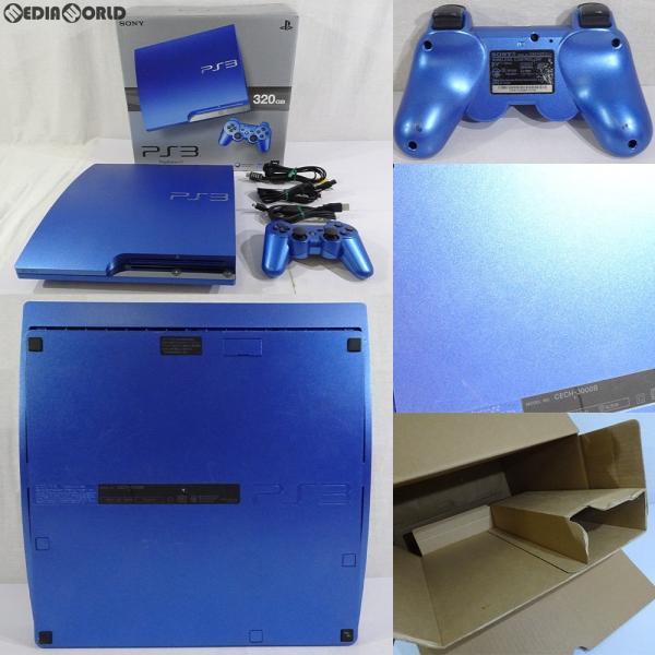 PlayStation3本体 320GB スプラッシュブルーの画像