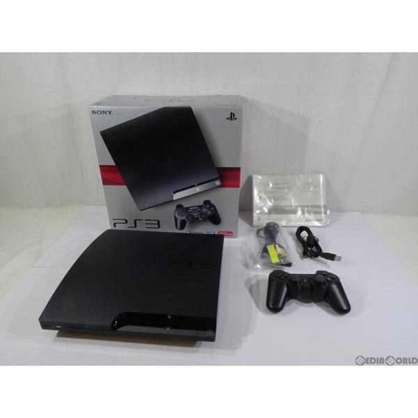 PlayStation3本体 250GB チャコールブラック CECH-2000Bの画像
