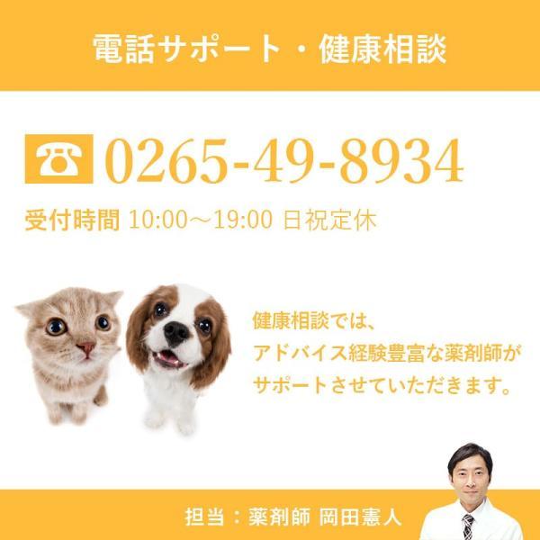 犬 猫 ペット用 免疫力の健康維持 サプリメント 冬虫夏草 プライオ 45g 2個セット|medinex|08