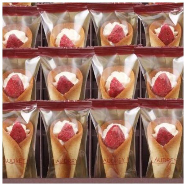 AUDREY  オードリー  グレイシア  苺 ミルク(12本入り)クッキー  洋菓子 お菓子 焼菓子 プレゼント  (パッケージ選択)|meecolle|03
