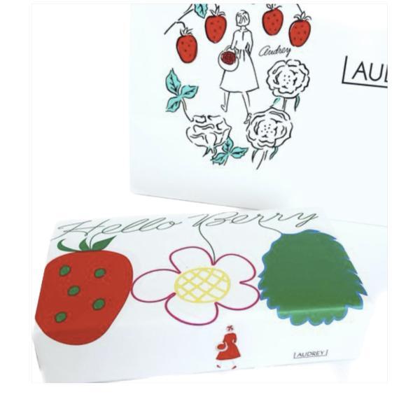 AUDREYオードリーチョコレートハローベリー(6枚入)洋菓子お菓子クッキー包装済みショップ袋付き(クール対象商品)