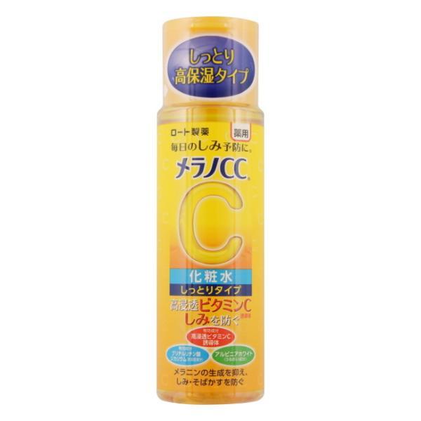 メラノCC 薬用しみ対策 美白化粧水 しっとりタイプ (170mL) ロート製薬 Melano cc