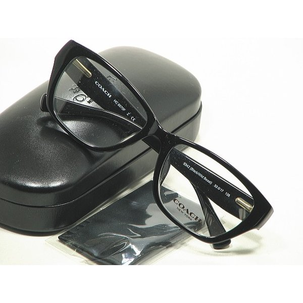 【COACH】COACH-HC-6070F-5342 コーチ度付きレンズメガネセット