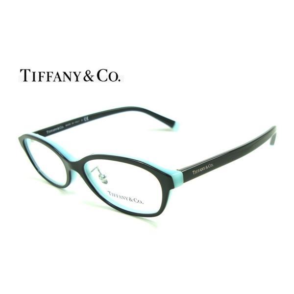 ティファーニー TF2182-D 8055 TIFFANY ブラック・ティファニーブルー  正規品 メーカー保証書付 メガネフレーム 送料無料