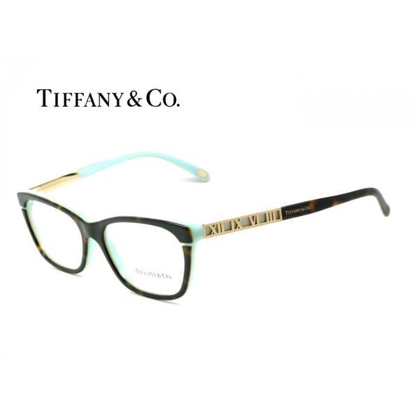 ティファーニー TF2102-F 8134 TIFFANY ブラウンデミ・ティファニーブルー 正規品 メーカー保証書付 メガネフレーム 送料無料 度付可