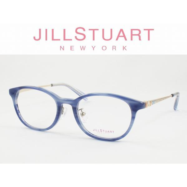 JILL STUART NEW YORK ジルスチュアート ニューヨーク メガネフレーム 04-0048-02 度付き対応 近視 遠視 老眼 遠近両用 子供用 ジュニア 女の子 キッズ