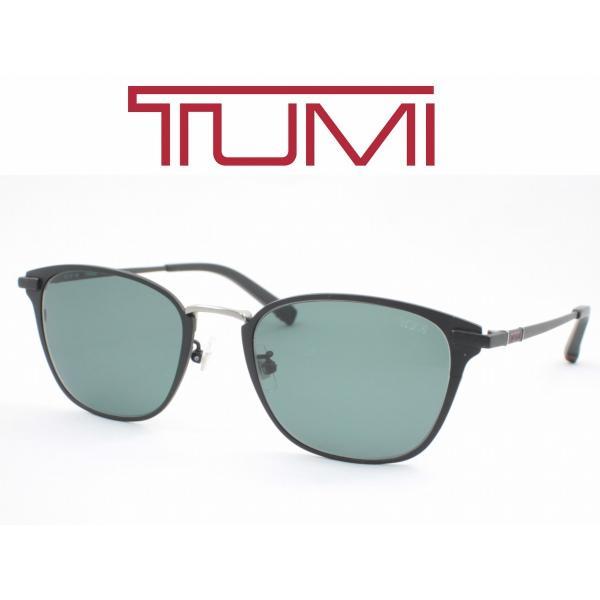 TUMI トゥミ サングラス 11-0001-1 度付きレンズ可  ビッグサイズのメガネフレームとして