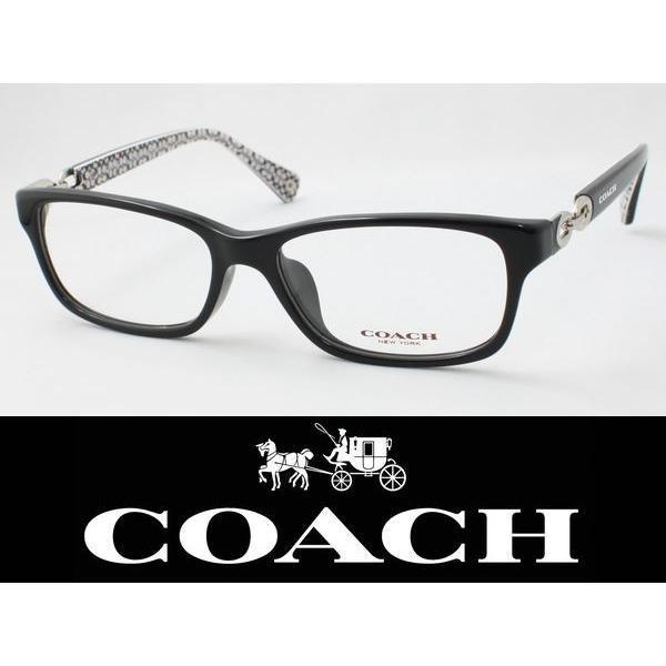 COACH コーチ メガネフレーム HC6052F-5214 度付き対応 近視 遠視 老眼 遠近両用 日本正規品 シグネチャー柄