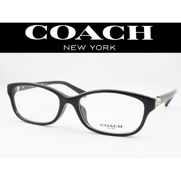 COACH コーチ メガネフレーム HC6092BD-5002 度付き対応 近視 遠視 老眼 遠近両用 日本正規品 BLACK
