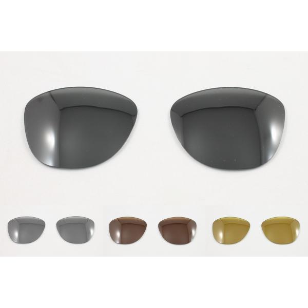 オークリー フロッグスキン OO9245用 交換レンズ 日本製 偏光レンズ 4色展開 めがね侍オリジナルレンズ 偏光サングラス