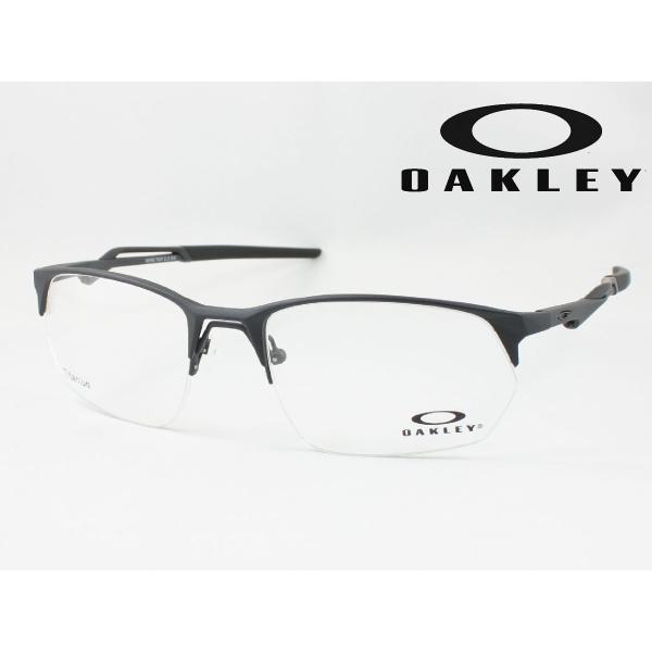 【遠近も0円!】OAKLEY オークリー OX5152-0356 薄型非球面度付きレンズセット メガネフレーム WIRE TAP 2.0 RX SATIN LIGHT STEEL