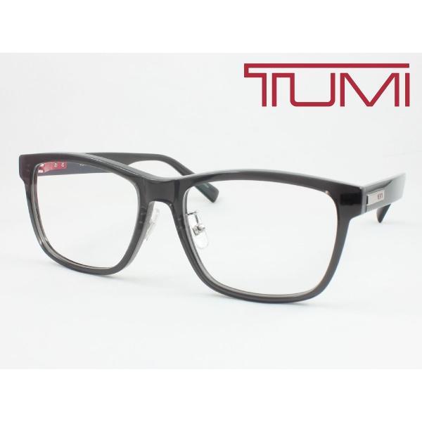 【超薄型レンズ0円 遠近も0円】TUMI トゥミ メガネフレーム STU038J-0705 度付き対応 近視 遠視 老眼 遠近両用 セルフレーム クリングス付き 鼻パッド