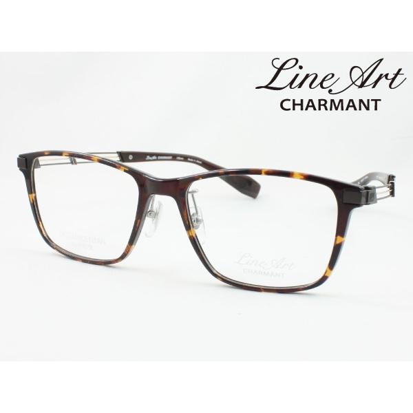 ラインアート シャルマン XL1823-DB 54サイズ Tenor テノール メガネフレーム 度付き対応 近視 遠視 老眼 遠近両用 日本製