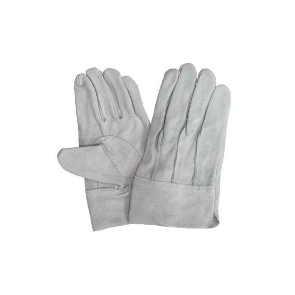 作業用皮手袋(牛床革手袋背縫い)皮手袋お買い得作業手袋 12双  皮手 革手 12組