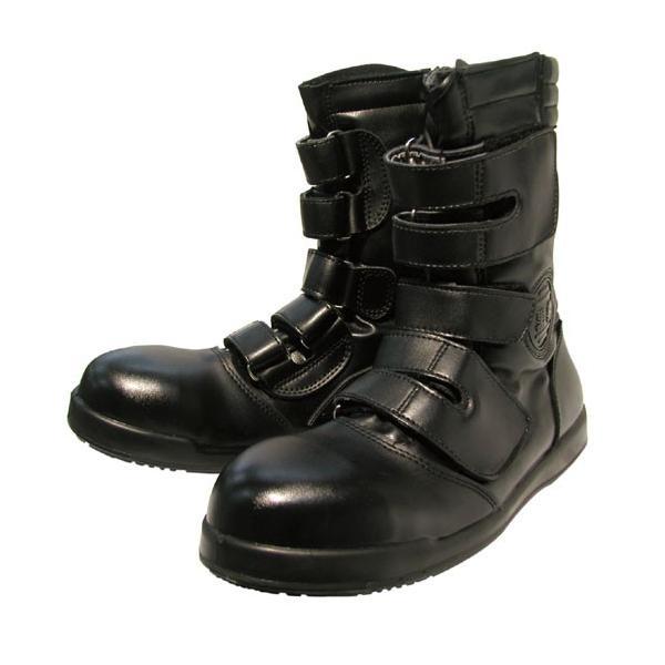 黒豹シリーズ 高所用半長靴マジック●関東鳶ZA-08 安全靴24CM〜30CM  コーコス