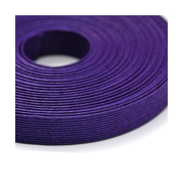 エコクラフトテープ アヤメ  10m巻 15mm 12芯  国産 高品質 めぐみ手芸ブランド