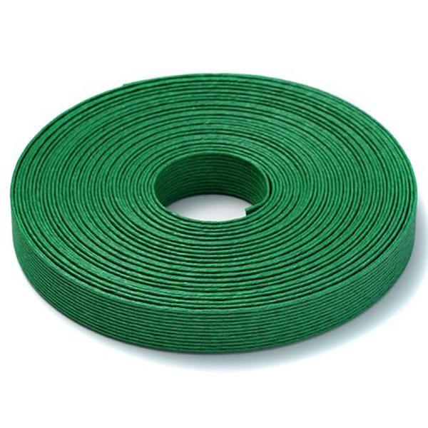 エコクラフトテープ  エメラルドグリーン 199m巻 15mm 12芯  2020g  国産 高品質 めぐみ手芸ブランド