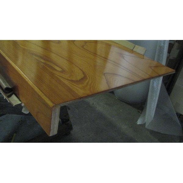 床の間 框付床板 ケヤキx框ケヤキ 910x900x100/9 DIY meibokuya-shop 02