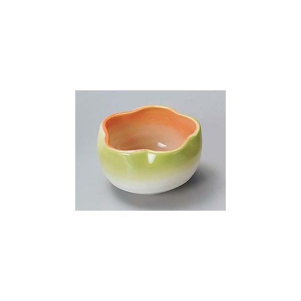 和食器 ア079-437 二色吹き梅型珍味