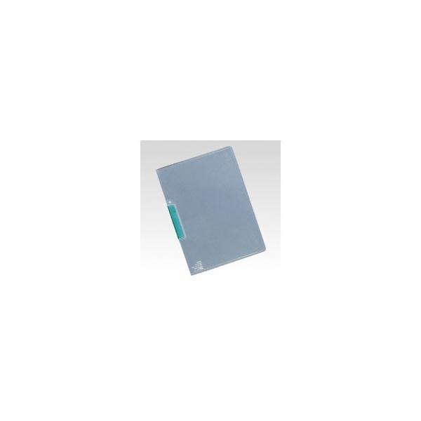 【まとめ買い10個セット品】 クリップインファイル  A4判タテ型(クリップスケルトンカラー)  SSS−115−30 グリーン