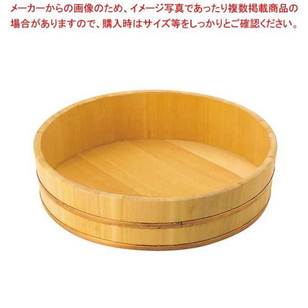 【まとめ買い10個セット品】 EBM さわら 飯台 42cm 1.5升 銅タガ【 すし・蒸し器・セイロ類 】