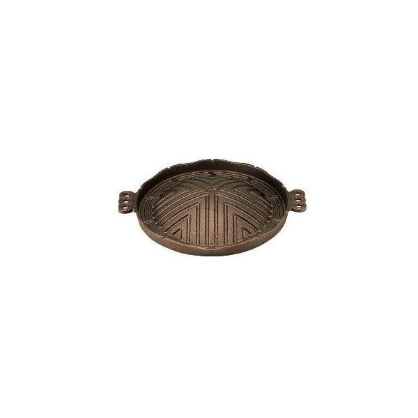 中部コーポレーション トキワ 鉄 ジンギスカン鍋 CR-17 29cm【 グリル 鉄板焼き 焼物 バーベキュー ジンギスカン 鉄鍋 プレート 】