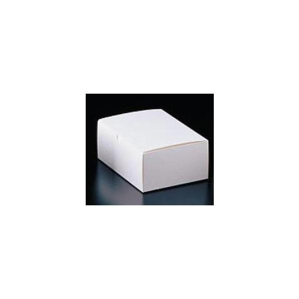 エコ洋生 サービスボックス #7 20-152 4号 100枚入【 ケーキボックス お菓子作り 】 【 バレンタイン 手作り 】
