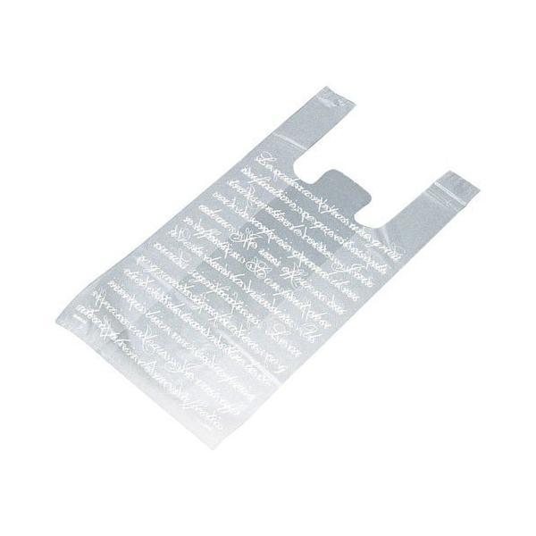 フロスト レジ袋 18×35(23)×横マチ10 6000枚