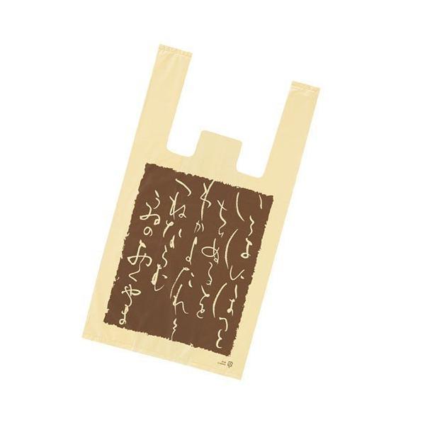 レジ袋 いろは 18×35(23)×横マチ10 100枚