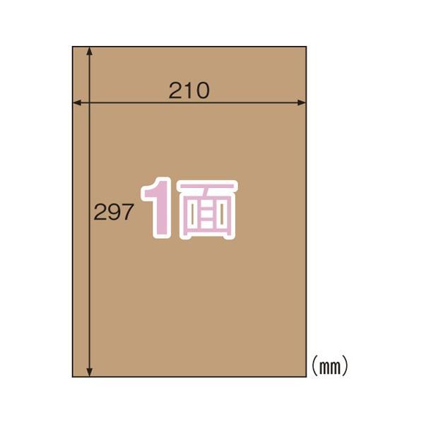 クラフト紙ラベル  ダークブラウン ダンボール用  OPD862