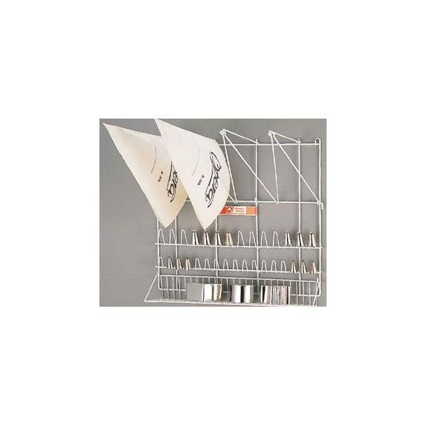 絞り袋口金両用ラック 業務用厨房機器 カタログ掲載 プロ仕様 ポイント消化  厨房器具 製菓道具 おしゃれ 飲食店