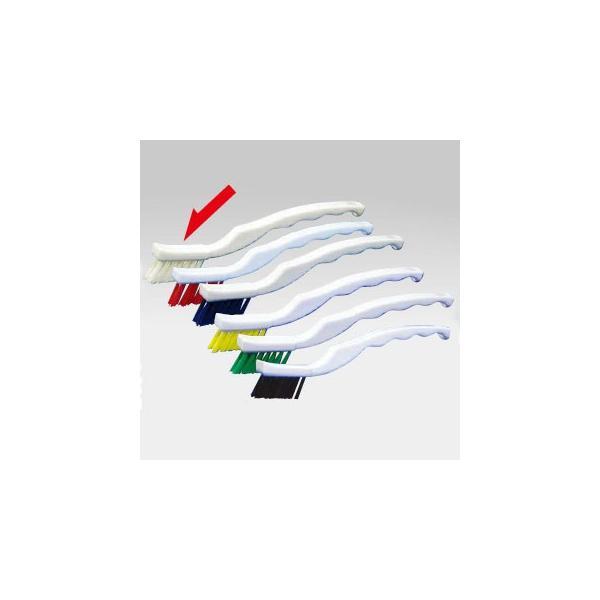 【まとめ買い10個セット品】バーキュート 歯ブラシ型ブラシ 白 61270001