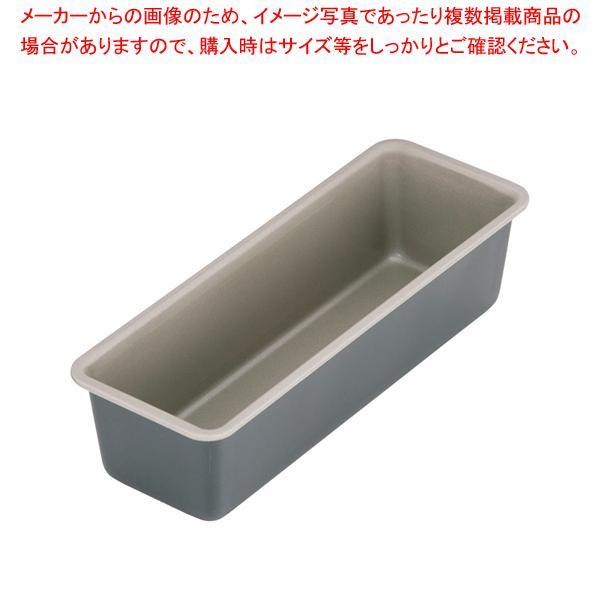 【まとめ買い10個セット品】ブラック・フィギュア パウンドケーキ型 (細) D-006 L