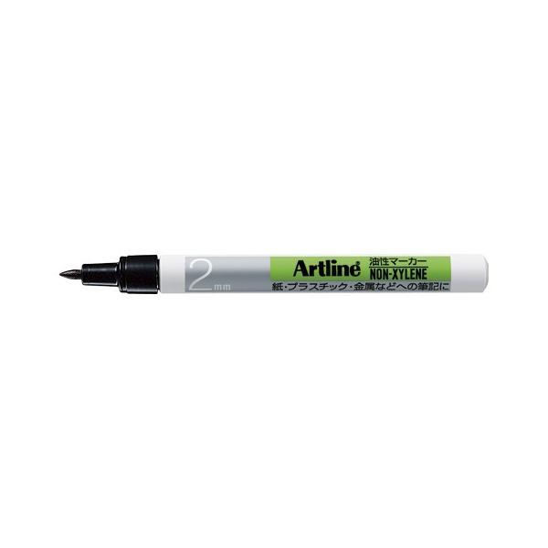 【まとめ買い10個セット品】 アートライン油性マーカー アルコール系インキ 丸2(1.0mm)  K−700  黒